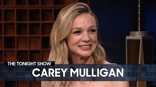 Carey Mulligan's Mother Gave Her a Strange Pre-Oscars Gift | The Tonight Show Starring Jimmy Fallon