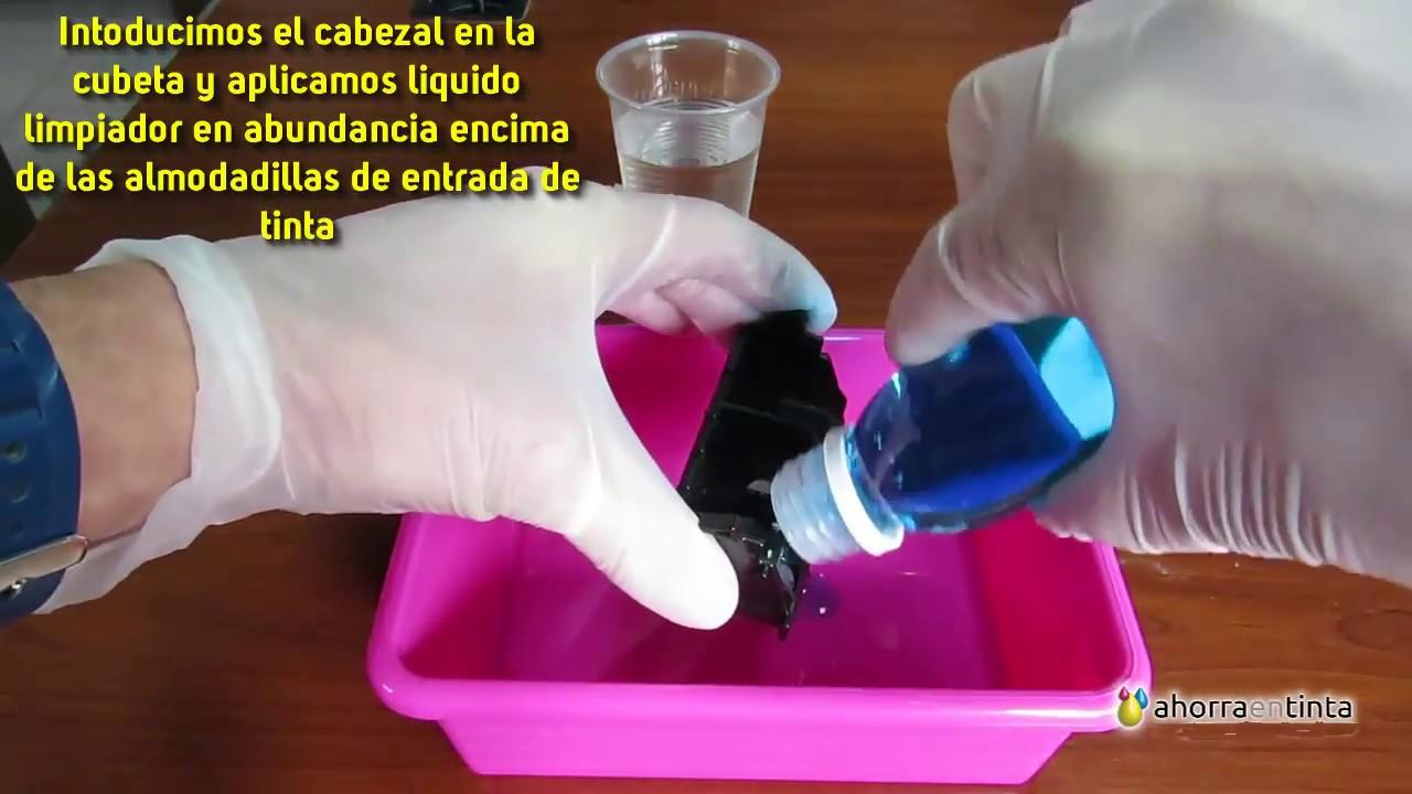 Limpieza Cabezal Canon Pixma