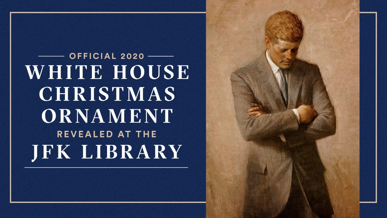 Youtube Christmas Decorations 2020 Official 2020 White House Christmas Ornament Unveiling at the JFK