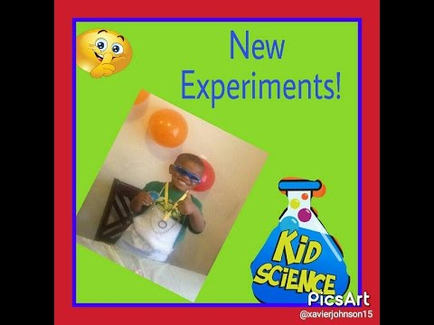 Science experiments for KIDS !