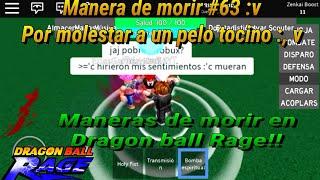 Maneras de m0r1r en Dragon Ball Rage|#1 |»ArielDroiid«