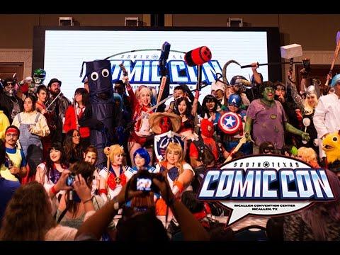 South Texas Comic Con 2016 Cosplay Music Video