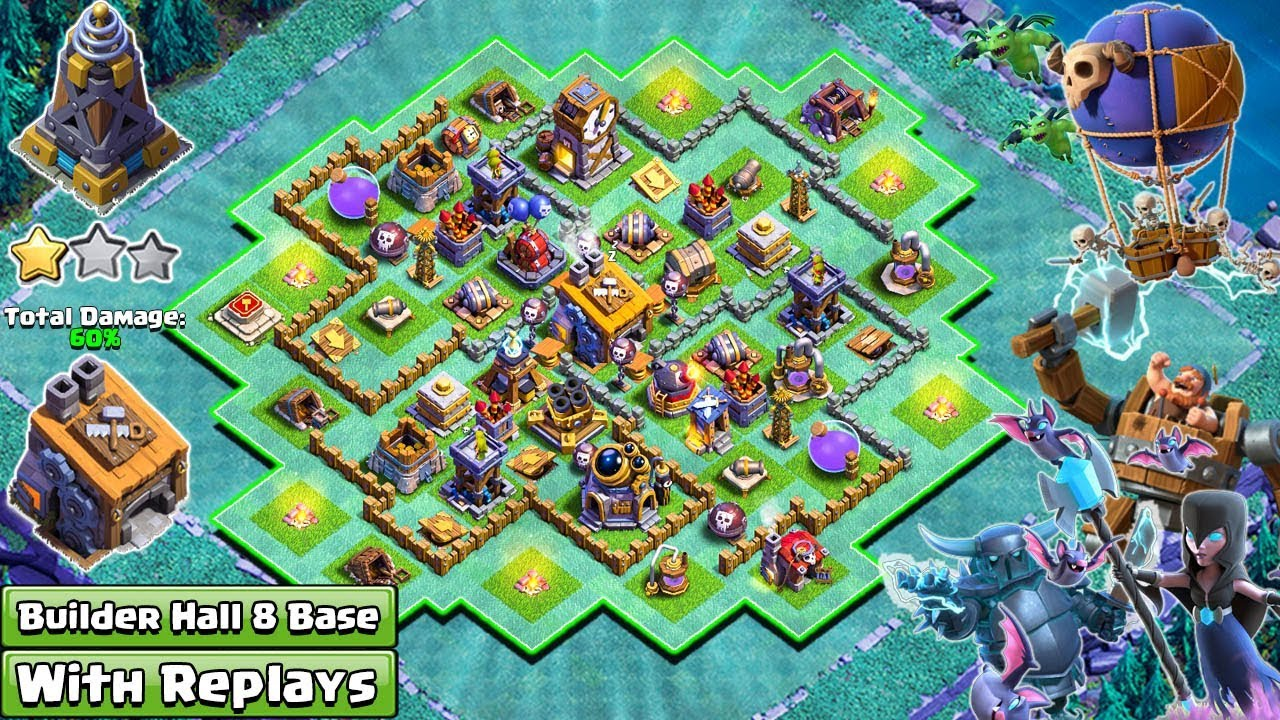 Coc Builder Base Th8 Best Defense 5