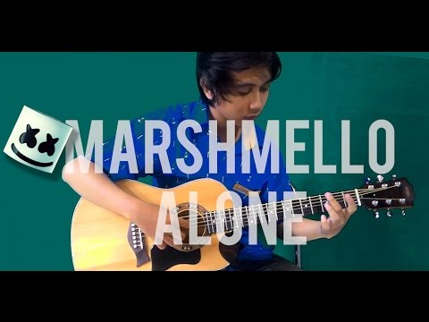 Marshmello - Alone [Fingerstyle/ One Guitar] Ramana Cover