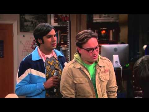 The Big Bang Theory Season 6 Ep 10 - Fish Scene