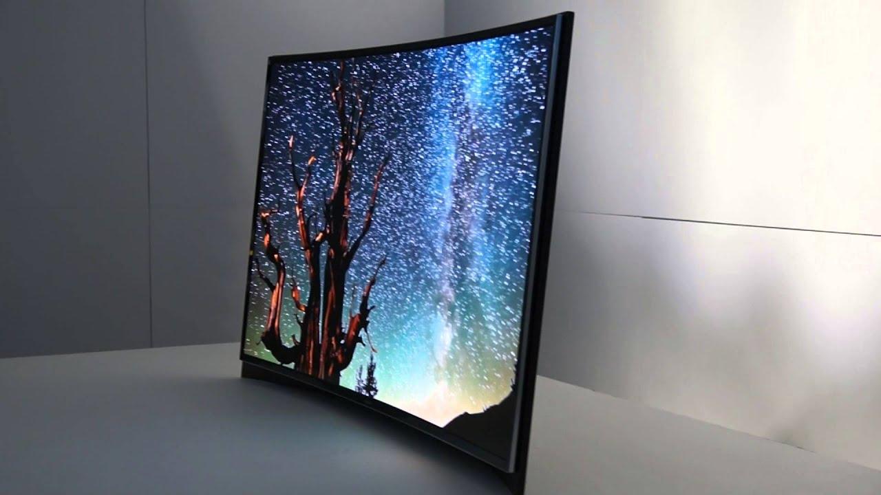 Samsung Curved OLED TV Im Eyes On [Deutsch]