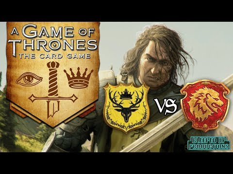 GAME OF THRONES LCG - #4 Baratheon VS Lannister/Greyjoy