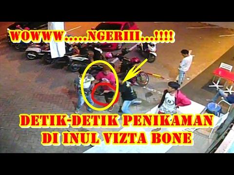 Tragis !! Video Detik-detik Penikaman di Inul Vizta Bone