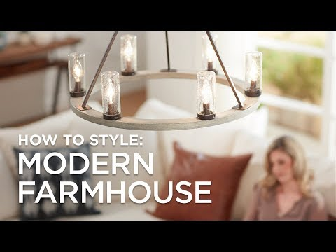 Modern Farmhouse Style - 5 Tips and Ideas to Get the Look from Lamps Plus
