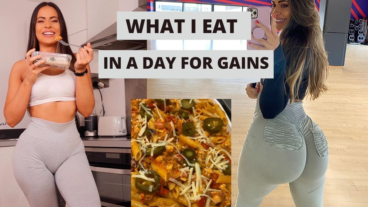 What I Eat In A Day To Make Gains In Quarantine