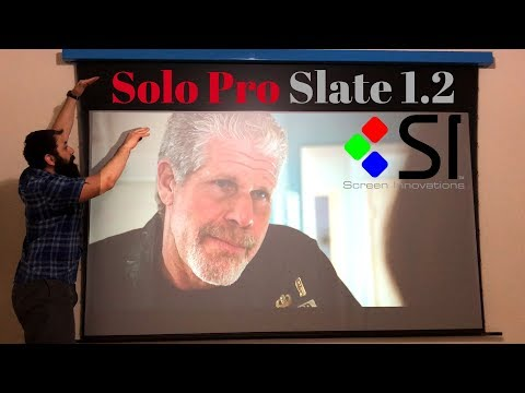 Screen Innovations Solo Pro Install & Tips!!