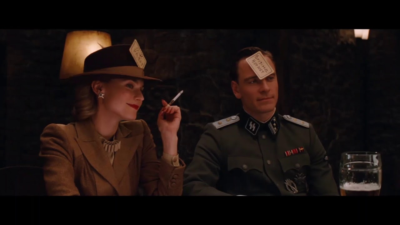 Inglorious bastards sex scene
