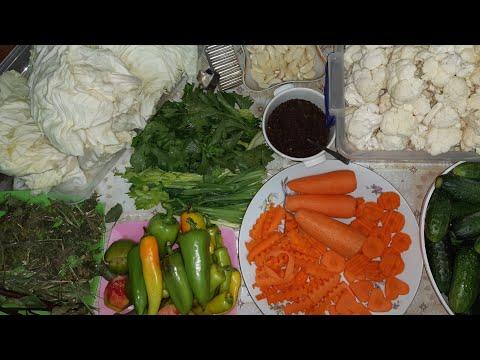 Квашеные Овощи на Зиму,Бомба 💣//Խառը բանջարեղենով թթու