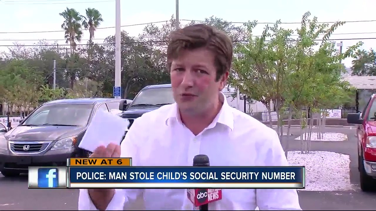 Police: Man stole child's social security number - YouTube