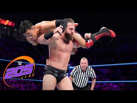 Akira Tozawa vs. Drew Gulak: WWE 205 Live, June 4, 2019