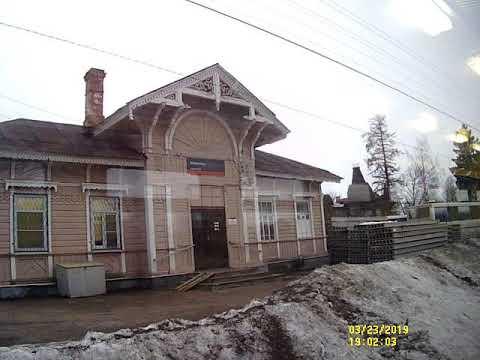 От Станция Гатчина Балтийская до станция Лигово часть 1