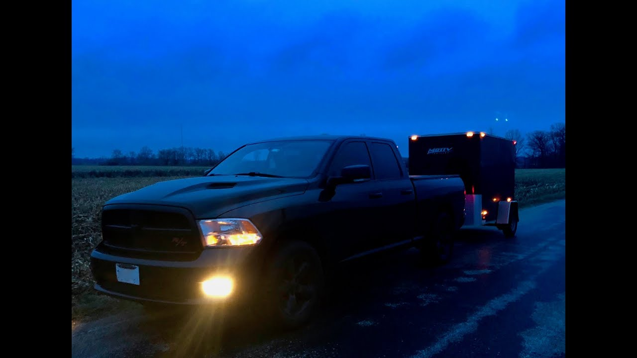 My Favorite Cargo Trailer I Tow With My Dodge Ram! Selling my Truck ...