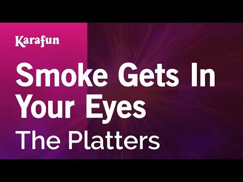 Karaoke Smoke Gets In Your Eyes - The Platters *