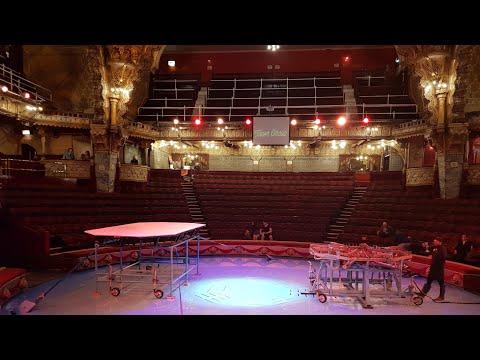 Blackpool Tower circus 2018