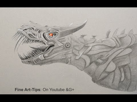 How to Draw A Dinosaur - Age of Extinction