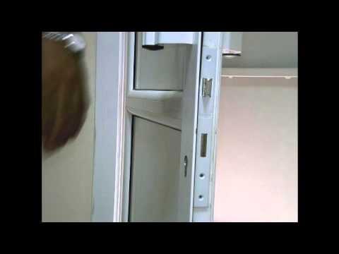 طريقة تبديل قفل الباب الالومنيوم Youtube