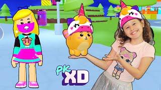 PK XD - ADOTEI UM PET NO PK XD 🎮 Valentina games