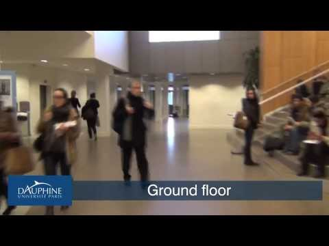 Paris Dauphine - An interactive visit tour of the university