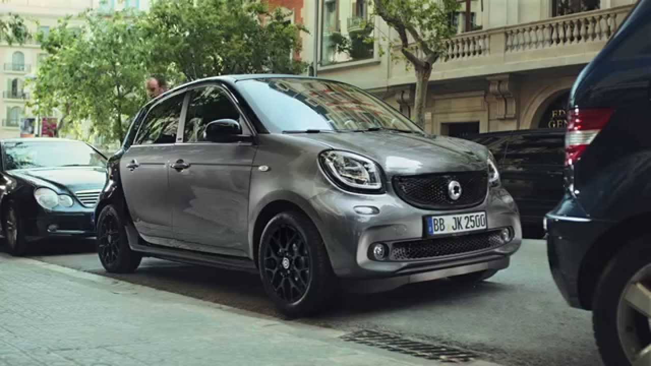 anuncio smart forfour 2016 parking youtube. Black Bedroom Furniture Sets. Home Design Ideas
