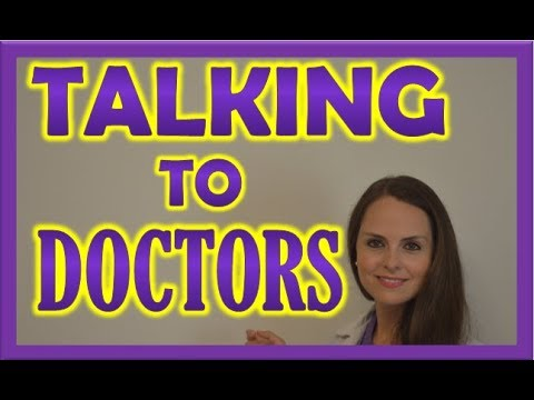Communicating with Doctors as a New Nurse or Nursing Student Tips