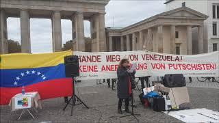 #Berlin 19. Okt. Saludos #Venezuela #HaendeWegVonVenezuela #HandsOffVenezuela #ManosFueraDeVenezuela