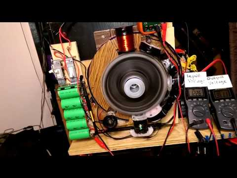 Overunity testing 3 amps in 4 amps out!