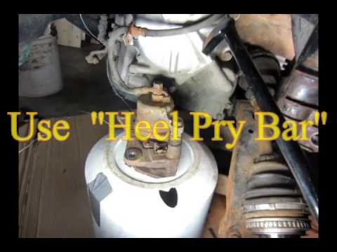 How To Remove Drive Shaft Toyota Rav4 1996 1997 1998 1999