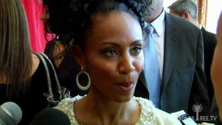 Jada Pinkett Smith talks about spirituality and working together @ Oscar Essence Luncheon