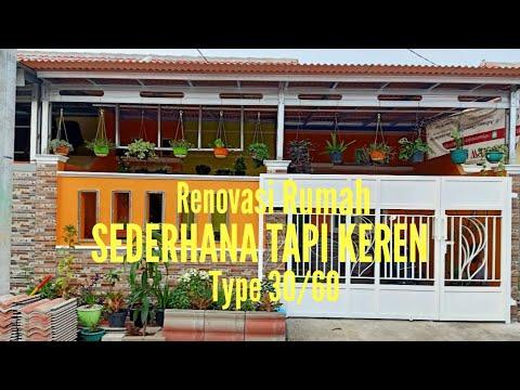 renovasi rumah subsidi type 30/60 sederhana tapi keren