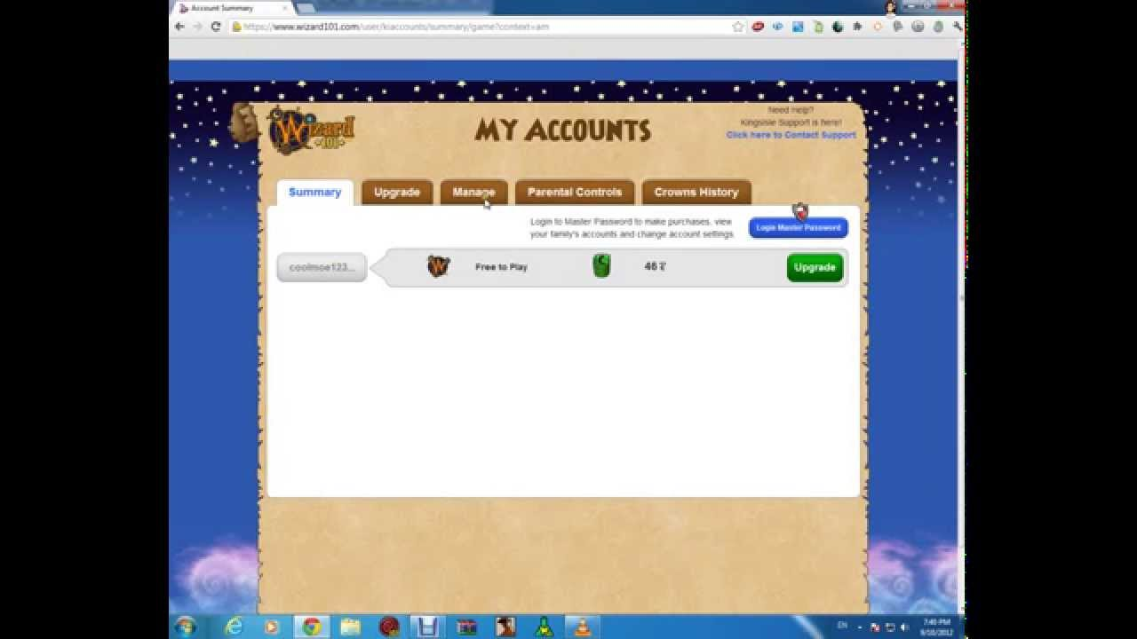 wizard101 how to get open chat,turn on gifting and more by KaoTic Virrus