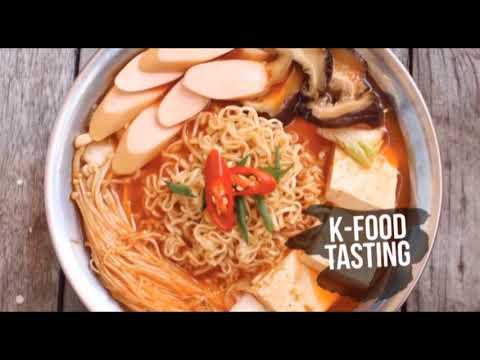 K-FOOD & CONTENT FESTIVAL, 18th August-2nd September in FX Sudirman, Jakarta