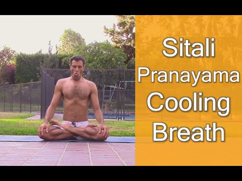 Sitali Pranayama Cooling Breath