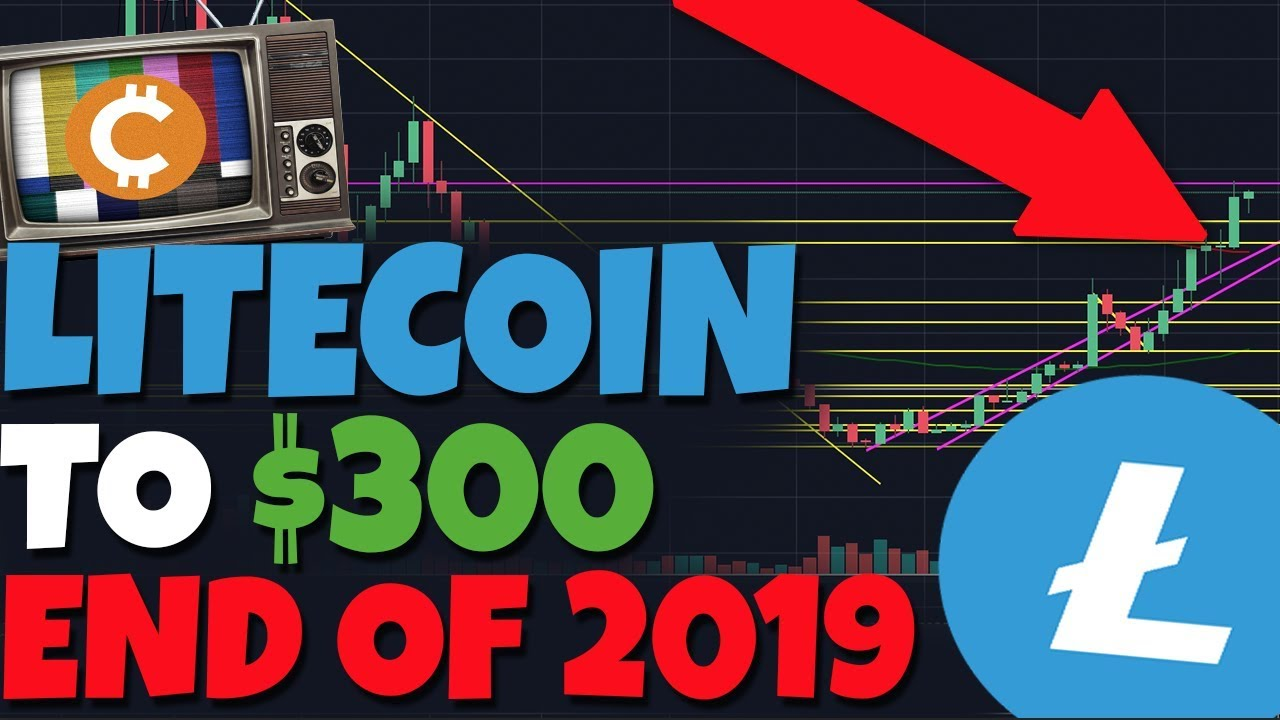 Litecoin To $300, End Of 2019  IT MAY BE POSSIBLE! Halving - When Is  Pullback?