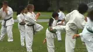 West Island Karate - Outdoor Training 2006 - Montreal, Quebec, Canada