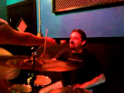 Bad Jones Guitarplayer on drums 2011.avi