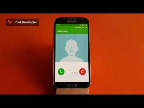 Prof Reminder - Missed Call
