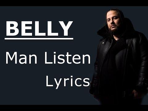Belly - Man Listen [Lyrics / Lyric Video]