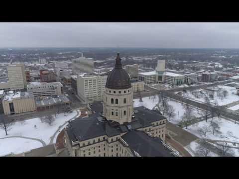 Topeka, KS State Capital 4K