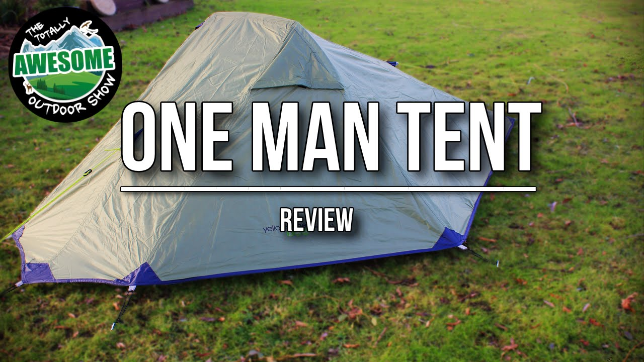 & One Man Tent Review - Yellowstone Matterhorn | TA Outdoors - YouTube