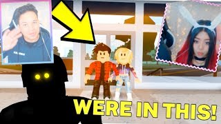 THE ODER creators REACT to BLOX WATCH... We were in this!! (Roblox Horror Movie)