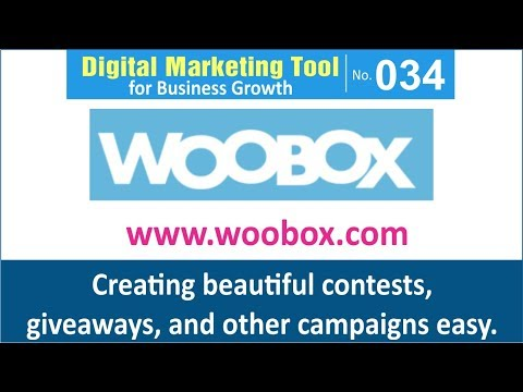 Digital Marketing Tool for Business Growth [034] | Woobox
