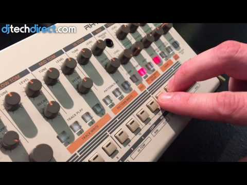 Roland TR-09 Rhythm Composer - Parameter Editing Tutorial