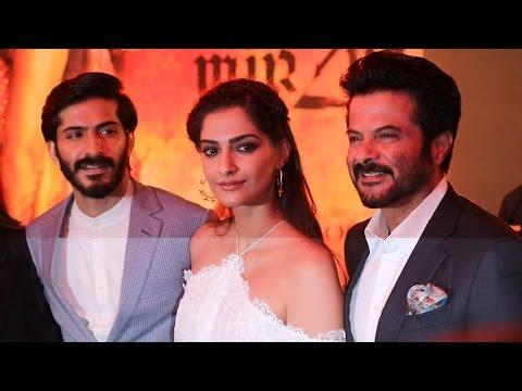 Mirzya Music Launch | Harshvardhan Kapoor | Sonam Kapoor | Anil Kapoor