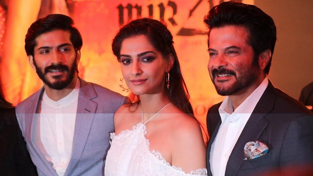Mirzya Music Launch | Harshvardhan Kapoor | Sonam Kapoor ...