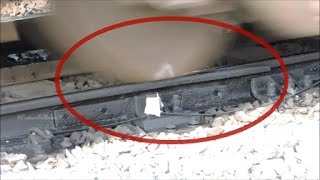 SHORT VIDEO ON CONDITION OF INDIAN RAIL TRACKS : INDIAN RAILWAYS